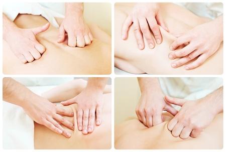 teknik: massage technique composition