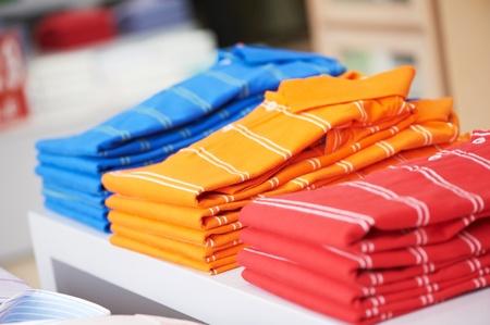 outwear: shirts in a shop