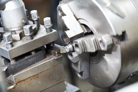 frezowanie: puste procesu obróbki metalu Zdjęcie Seryjne