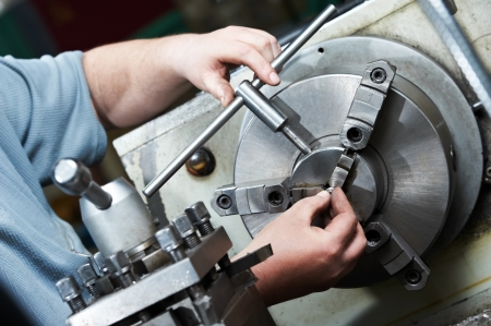 tool chuck: metal blank machining process