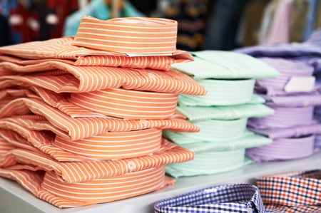 shirts in a shop Stock Photo - 10521420