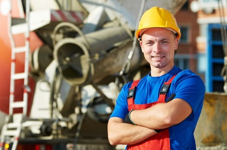 Generator Arbeiter Baustelle