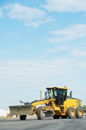 road grader bulldozer Stock Photo - 10698149