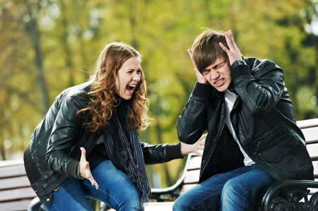 faithlessness:  anger in young people relationship conflict