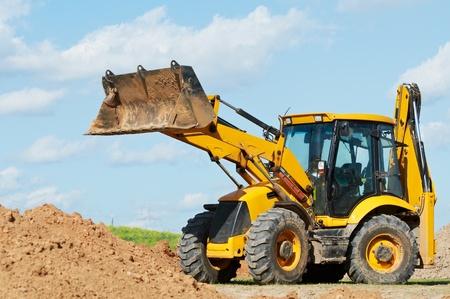 Excavadoras Cargadoras con obras retroexcavadora