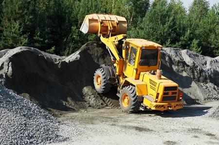 heavy construction loader Stock Photo - 11006421