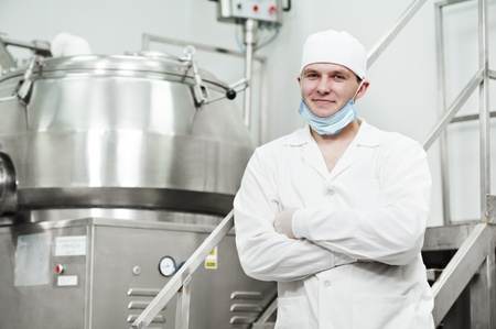 pharmaceutical factory worker Stock Photo - 11701984
