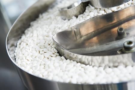 production plant: farmacia, medicina pillola sfondo di produzione