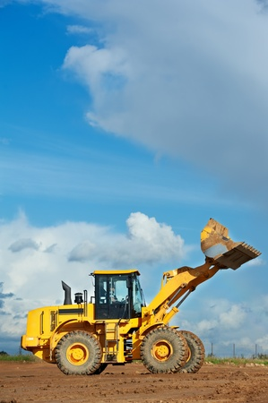 construction loader excavator photo