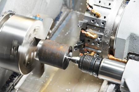 cnc machine: metal blank machining process