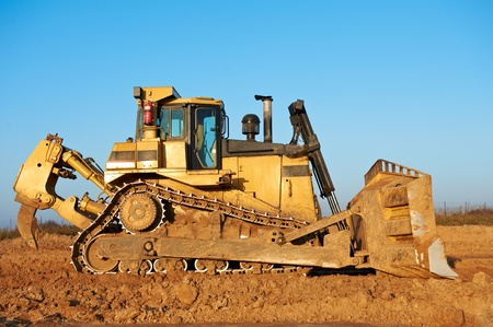 track-type bulldozer loader photo