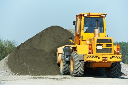 heavy construction loader Stock Photo - 12875553