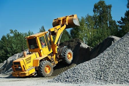 heavy construction loader Stock Photo - 12876182