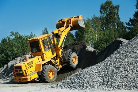 heavy construction loader Stock Photo - 12876182