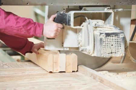 muff: closeup carpentry wood cross cutting