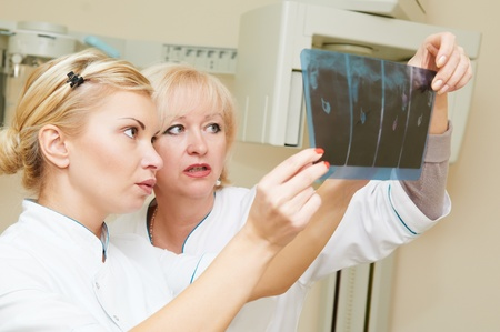dental X-ray image examaning photo