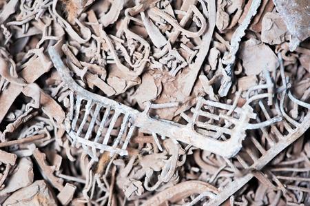 metallschrott: führen Schrott-Recycling backround