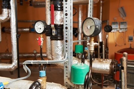 Heating system Boiler room equipments photo