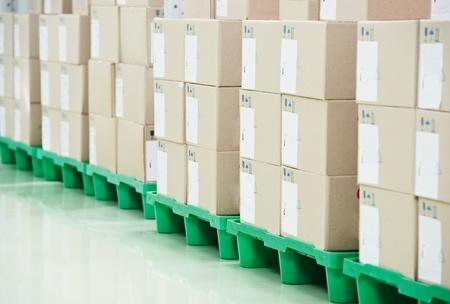 palet: la producci�n de almac�n del almac�n