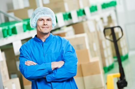 pharmaceutical industry: medical warehouse worker