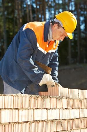 bricklayer: la construcci�n de alba�il alba�il, trabajador