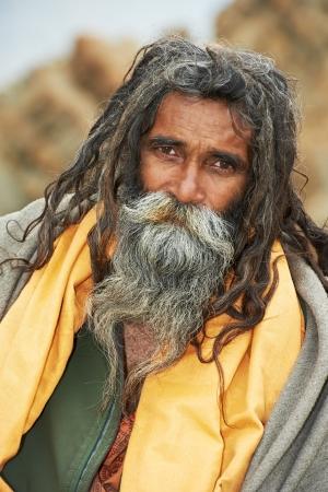 reyes magos: Monje indio sadhu