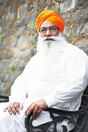 sikhism: adult indian sikh man Stock Photo