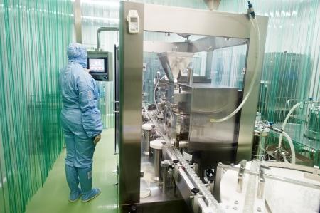 maintenance fitter: pharmaceutical factory worker