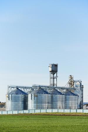 grain storage: grain storage silo food processing project