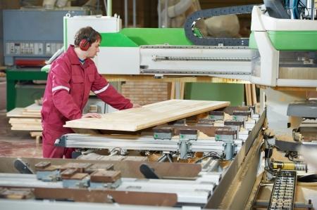 carpintería de madera closeup transversales Foto de archivo