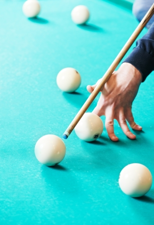 Snooker billiard game photo