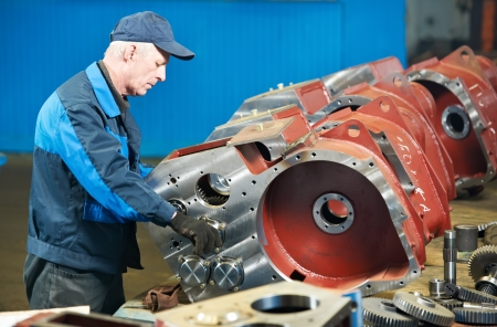 experienced industrial assembler worker Stock Photo - 18196908