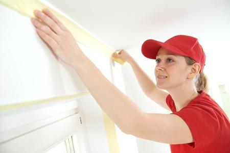 pintor: Inicio Pintor con cinta adhesiva