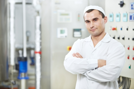 factory worker: pharmaceutical factory worker