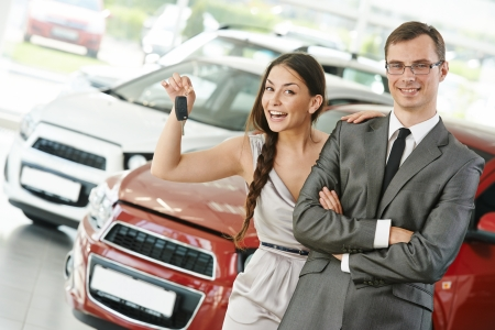 Car selling or auto buying photo
