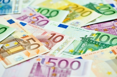 subornation: European currency money euro