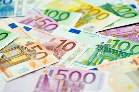 subornation: European currency money euro