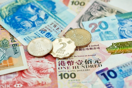 hk: Chinese currency money yuan Stock Photo