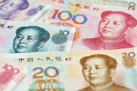 Chinese currency money yuan photo