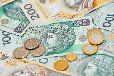 Polish currency money zloty photo