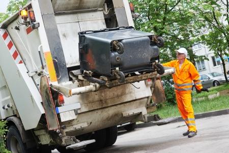 çöplük: Geri dönüşüm atık ve çöp Stok Fotoğraf