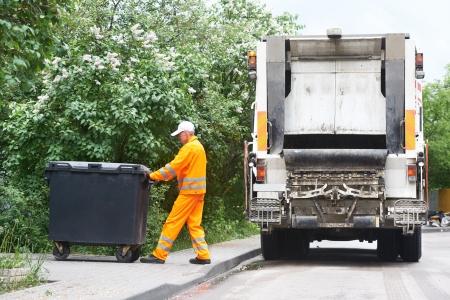 Afval en vuilnis recycling