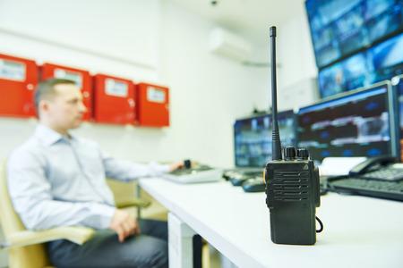 supervisión: oficial de guardia de seguridad de vídeo de observación sistema de seguridad de vigilancia de monitoreo