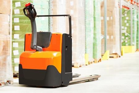 Manuale carrello elevatore pallet stacker attrezzature camion al magazzino
