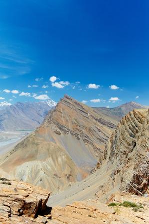 Himalayas mountains. India and Nepal