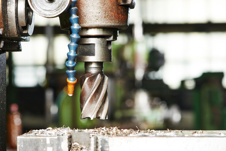 metalworking: industrial metalworking cutting process by milling cutter