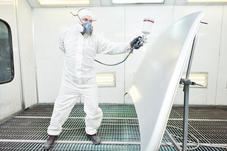 商工会議所塗装自動車車のボンネットの修理画家