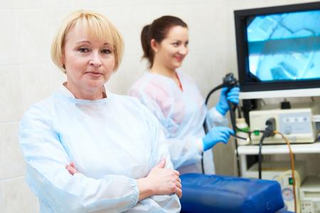 gastrointestinal endoscopy doctor portait