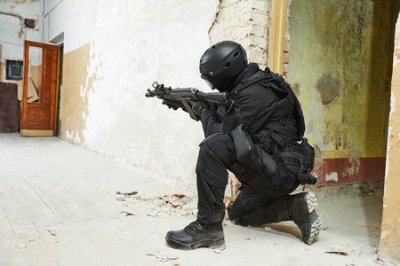 special operations forces Stock Photo