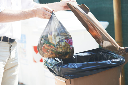 trash garbage separate utilisation and recycling Stock Photo
